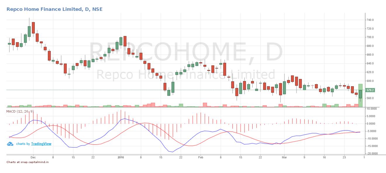 Repco Home Finance Share Price