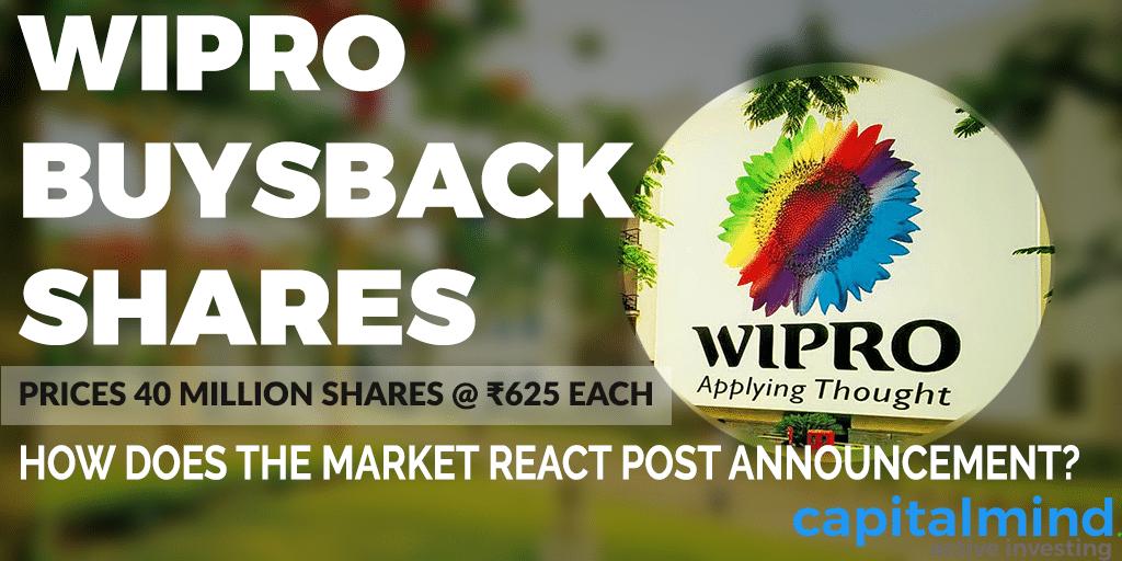 Wipro buysback shares