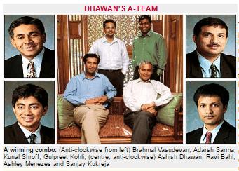 Ashish Dhawan's Team