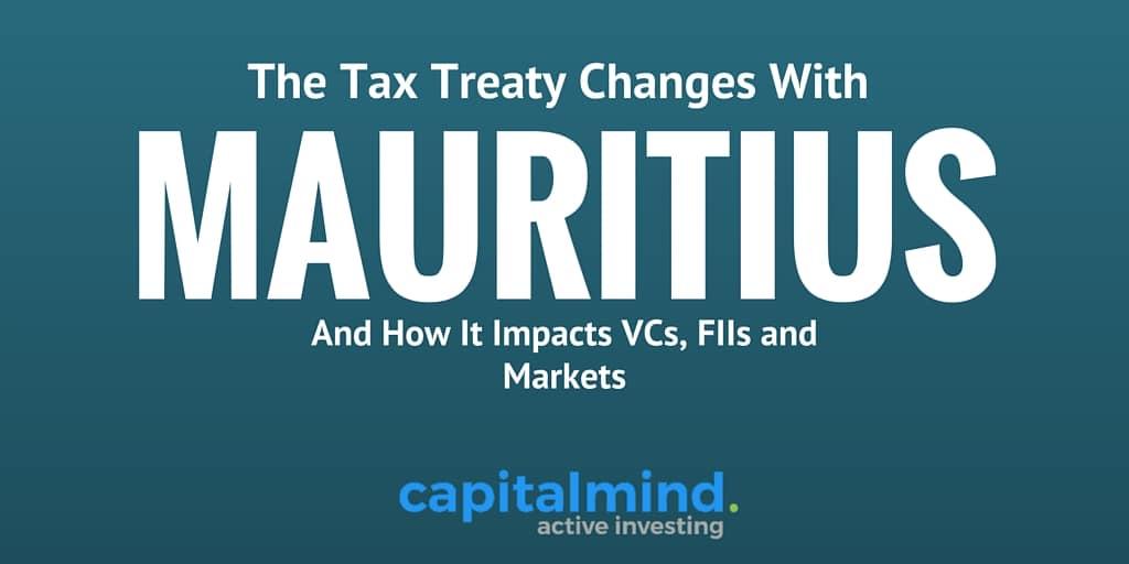Mauritius Tax Treaty Changes