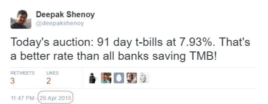 2013 tweet