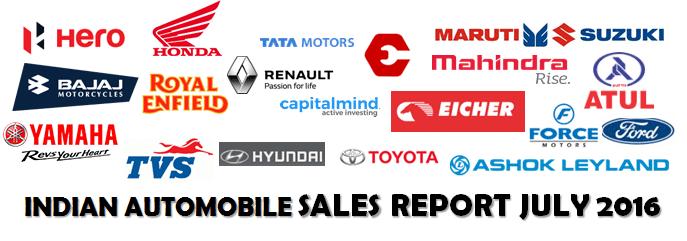Indian Automobile Sales Header