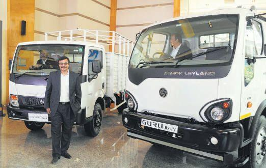 Ashok leyland sales growth at 71 banks on pre buying close to bs the new launches address the two segments between 5 tonne and 12 tonne range where we were weak guru has been developed in 18 months as against a normal mozeypictures Image collections